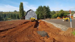 French Drains and Grading
